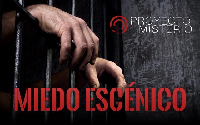 Proyecto Misterio 28: miedo escénico